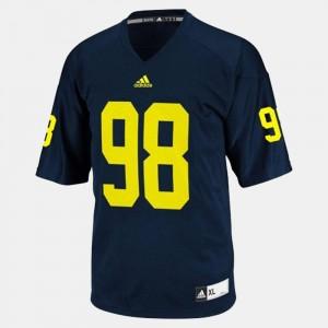 #98 Devin Gardner Michigan Wolverines Mens College Football Jersey - Blue